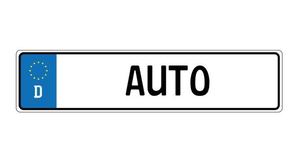 ramka tablicy rejestracyjnej